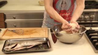 Mamma Mia!: Fish with Salt Crust Recipe by Chef Matteo Meacci
