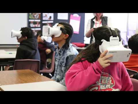 Virtual Reality in the Classroom at Curtin Intermediate School