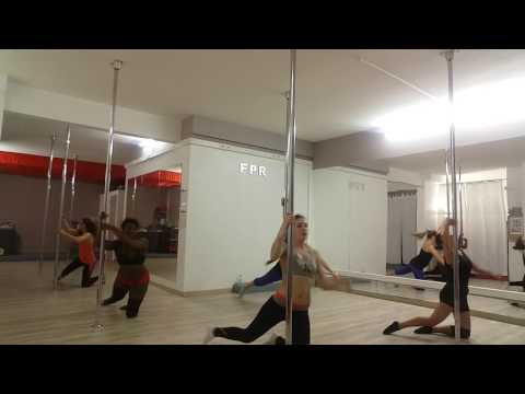 Pole choreography -Rihanna What now