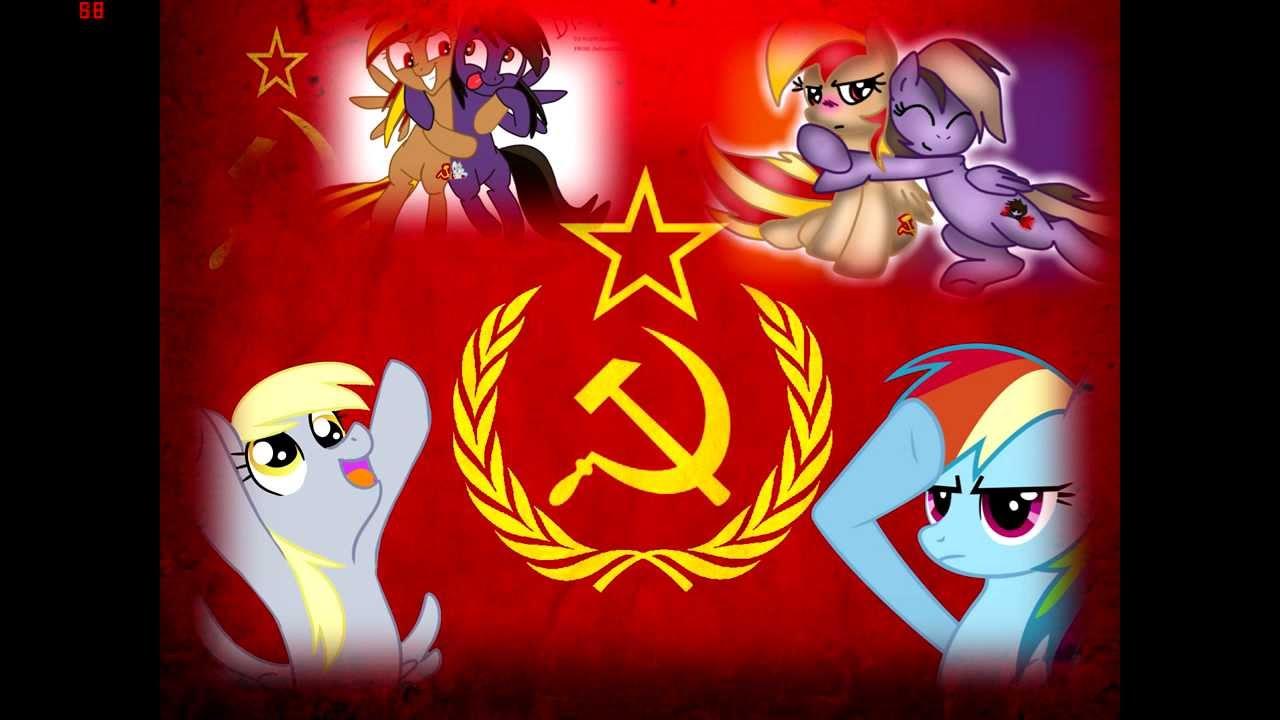 Equestria Girls Wallpaper Pmv Soviet Pony Soviet March Youtube