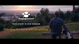 Dogs Go Woof: Changing the world with storytelling