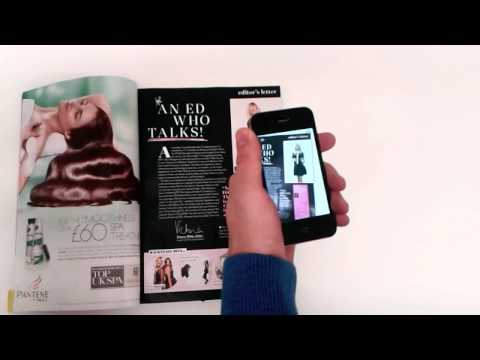Company Magazine AR Campaign