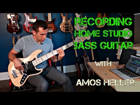 Bass Session Recording and playing tips with Nashville Bassist Amos Heller - Produce Like A Pro