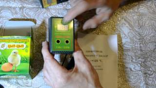 Двухпороговый цифровой терморегулятор ЦЫП-ЦЫП для инкубатора.Обзор.