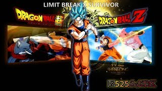 【MAD】Dragon Ball Super Vs Dragon Ball Z (Saga de Buu)「 Limit Break X Survivor ]
