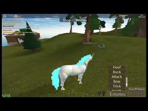 Horse World Unicorn And Aqua Horse Gamepass Youtube