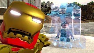 LEGO Marvel Super Heŗoes 2 - Antifreezer Challenge (All 10 Frozen Civilians in Manhattan)