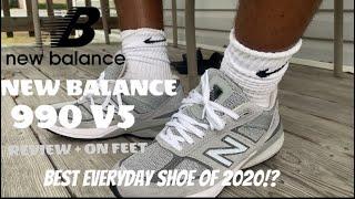 NEW BALANCE 990 V5 REVIEW!