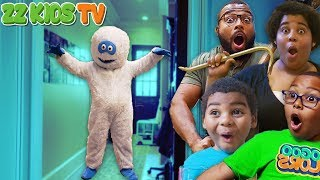 Go Home Dude! (Abominable Snowman Dude Invades ZZ Kids House part 3)