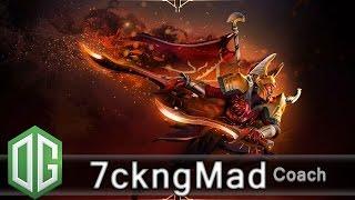 og 7ckngmad legion commander gameplay unranked match og dota 2