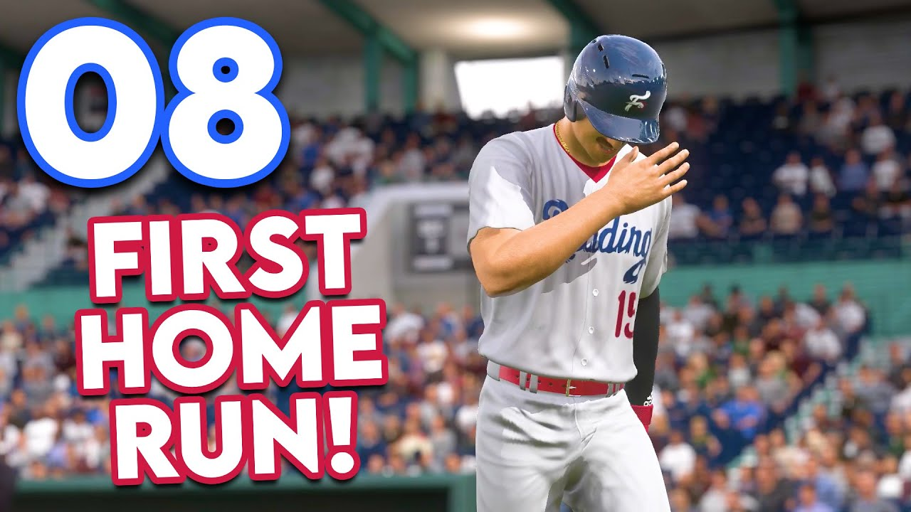 Download MLB 21 Road to the Show - Part 8 - MY FIRST HOME RUN!