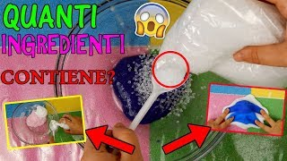 SLIME! QUANTI INGREDIENTI RIESCO A METTERE DENTRO?! SLIME TEST Iolanda Sweets