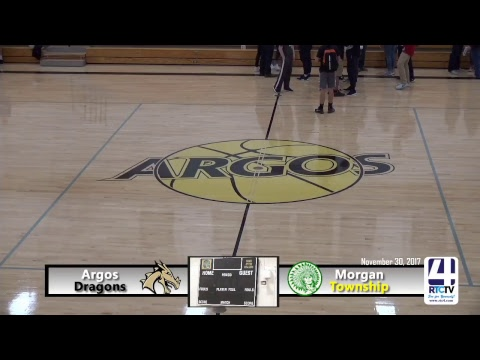 Argos Girls Basketball vs Morgan Township