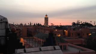 Evening call to Prayer, Marrakech