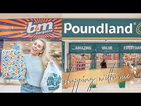NEW IN *CHRISTMAS* B&M AND POUNDLAND HAUL OCTOBER 2019 | COME SHOPPING WITH ME