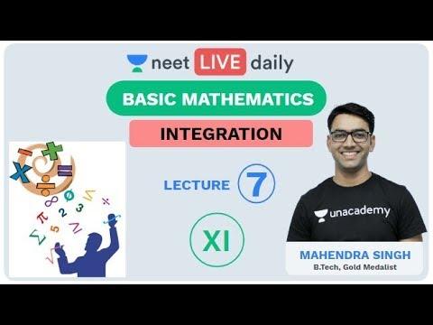 Basic Mathematics - Lecture 7 | Unacademy NEET | LIVE DAILY | NEET Physics | Mahendra Sir