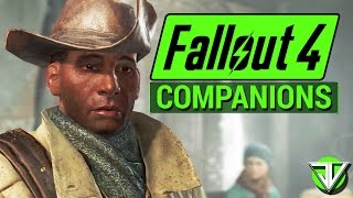 FALLOUT 4: Follower COMPANIONS Analysis! (Dogmeat, Piper, Codsworth, and Preston)