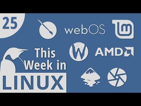 Krita 4.0, LG Open Sources webOS, Mintbox Mini 2, AMD Radeon-Rays, Wayfire | This Week in Linux 25