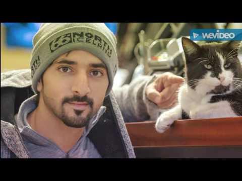 sheikh hamdan with lovely animals 😊😙