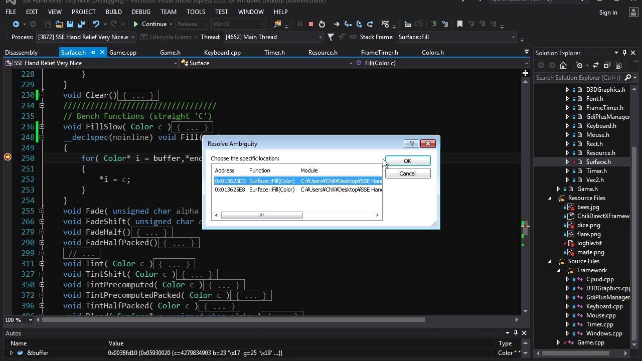 C++ SSE Optimization - Lesson 1