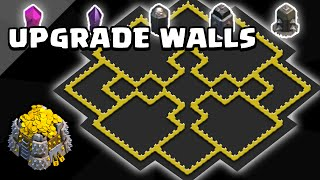 Clash of Clans | Town Hall 9 Wall Farming Base |