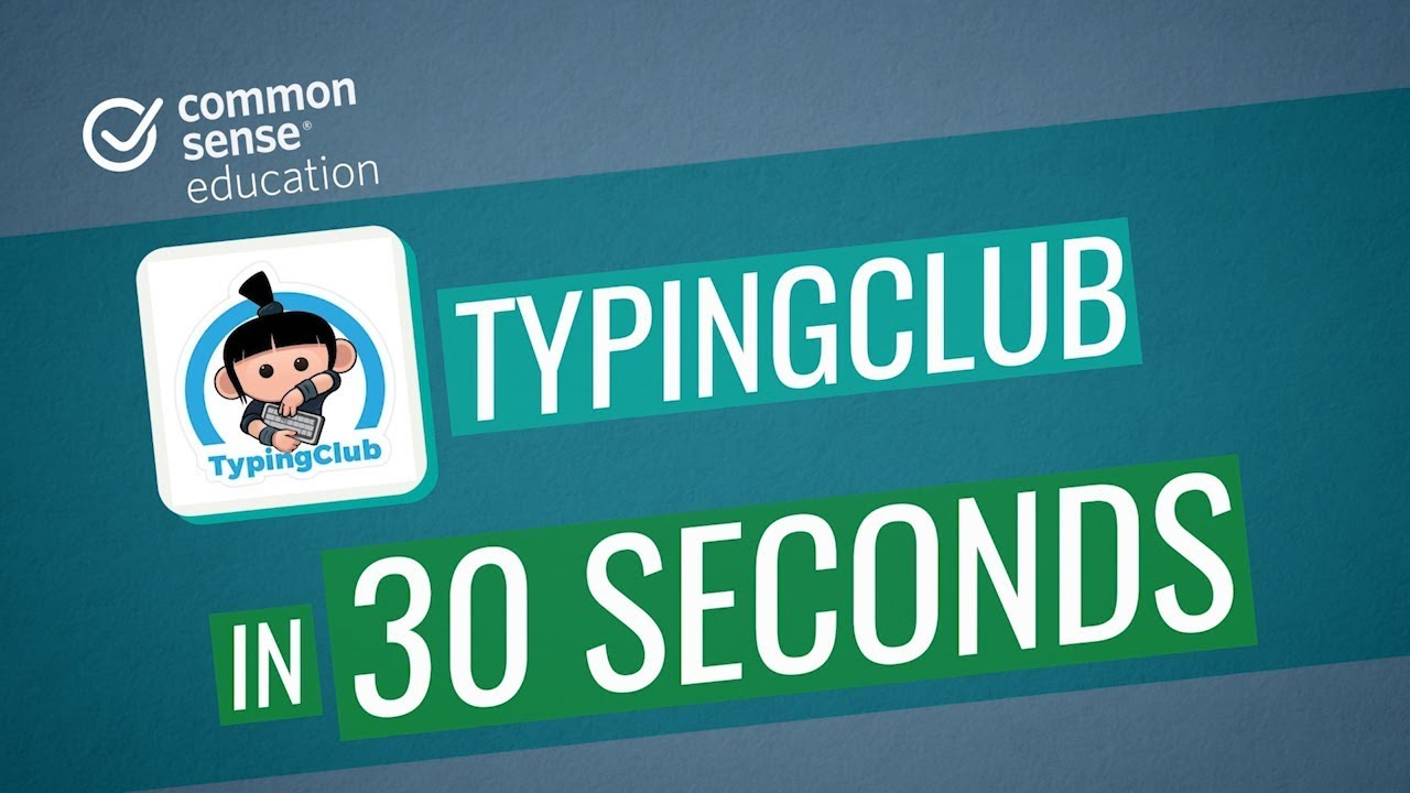TypingClub in 30 Seconds