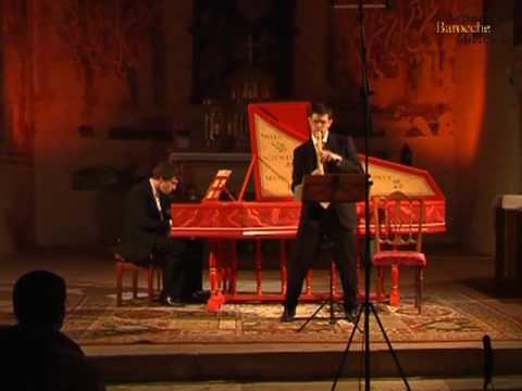 Handel - Recorder sonata in A minor (live)