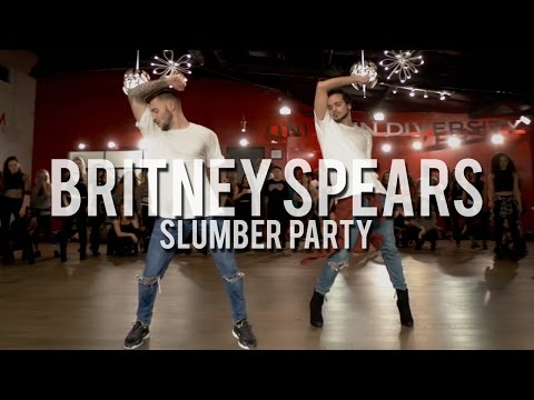 "YANIS MARSHALL & KEVIN VIVES HEELS CHOREOGRAPHY ""SLUMBER PARTY"" BRITNEY SPEARS FEAT TINASHE."