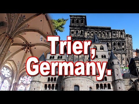Audio visual guide for travelers in Trier, Germany / Alemania.