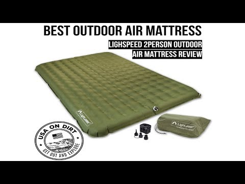 Best Outdoor Camping Air Mattress - Lightspeed Outdoor Air Mattress