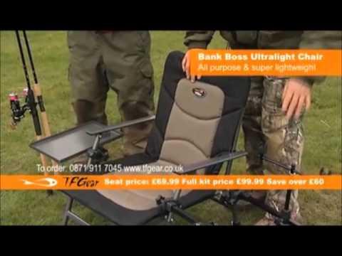 TFG Bank Boss Ultra Light Chair - Fully Loaded