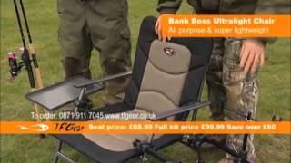 Tfg Bank Boss Ultra Light Chair - Fully Loaded