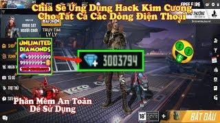 Chia Sẽ Phần Mềm H.a.c.k Kim Cương Free Fire Mới Nhất Ob19, Dành Cho Android Và IOS Rất Dể Sử Dụng.