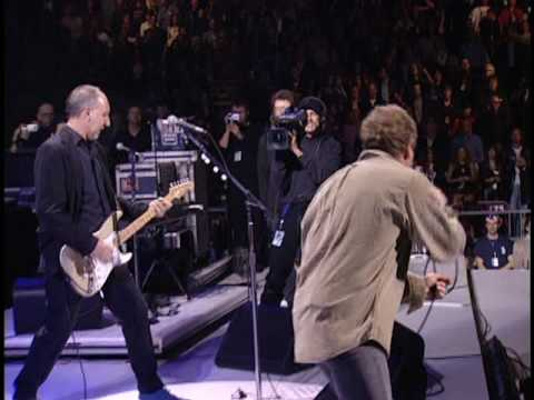 """THE WHO  """" Won't Get Fooled Again""""   Concert For NYC 10-20-2001"""