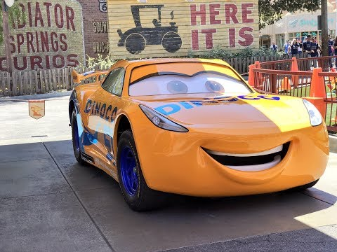 "Cruz Ramirez from ""Cars 3"" Debuts at Disney California Adventure"