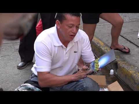 Street Artist Cartagena Colombia