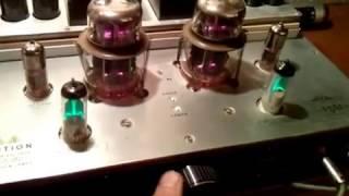 видео Однотактный ламповый усилитель на 6Н5С, 6Н2П, 6Ж1П.