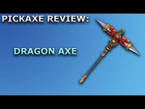 Dragon Axe Pickaxe Review + Sound Showcase! ~ Fortnite Battle Royale