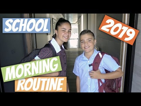 First Day Back At School Morning Routine 2019 | Grace's Room