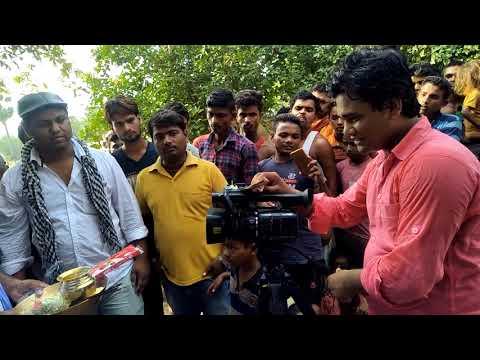 We all are parent in a film Muhurt that name is Pyar Ka Saugandh that's Cameraman maazid Arya Raz