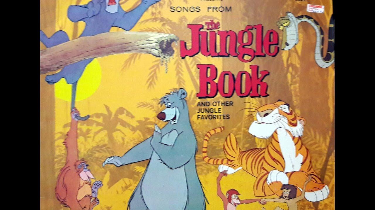 Disney Jungle Book Songs Youtube