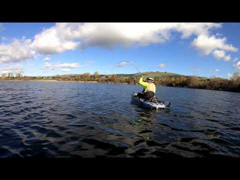 Kayak Fishing For Lightning Trout (Quarry Lake) Ft  Ish With Fish & DHF