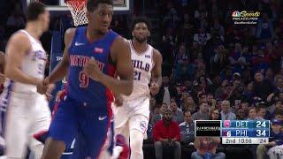 2nd Quarter, One Box Video: Philadelphia 76ers vs. Detroit Pistons