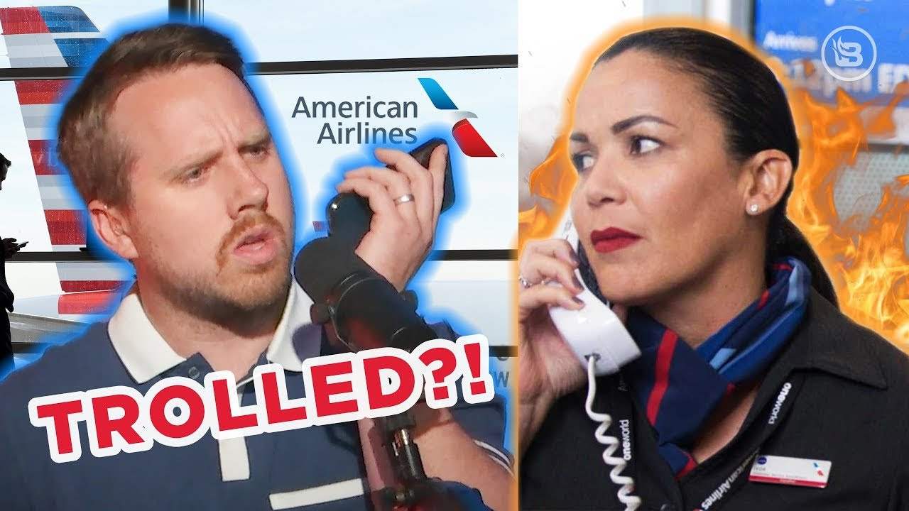 Did American Airlines Berate This BlazeTV Host?   Slightly Offens*ve