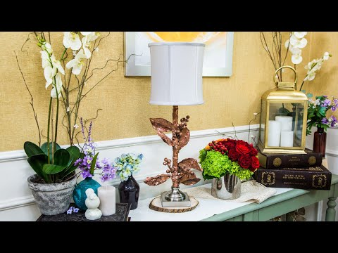 DIY Faux Paper Mache Lamp - Home & Family