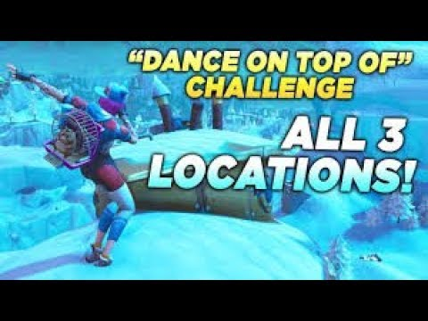 Fortnite Dance On Top Of Crown Of Rvs Submarine Metal Turtle All