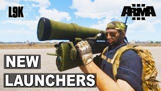 Скачать NEW LAUNCHERS MAAWS AND VORONA Arma 3 Tanks DLC