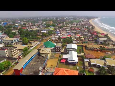 A view of Monrovia, Liberia