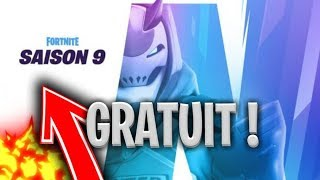 VOICI HOW AVOR THE SAISON COMBAT PASS 9 FREE on FORTNITE