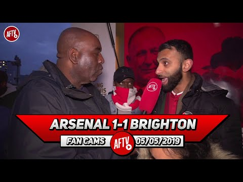 Arsenal 1-1 Brighton | The Players & Manager Have Ruined Ramsey & Cech's Send Off (Moh)